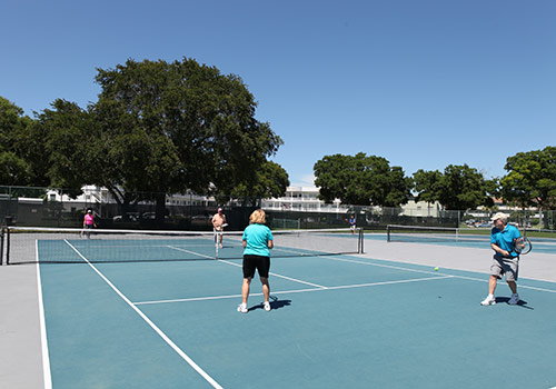 Tennis at On Top of the World Clearwater.